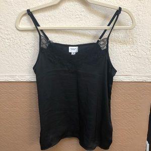 ASOS Petite Lace Black Cami (Small)